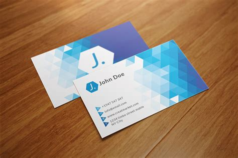 triangle shaped business card template triangle polygon business card business card templates
