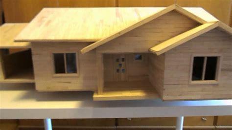 house making 8 popsicle stick house build mini casa construita din