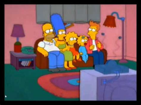 simpsons french couch gag fry in the simpsons youtube