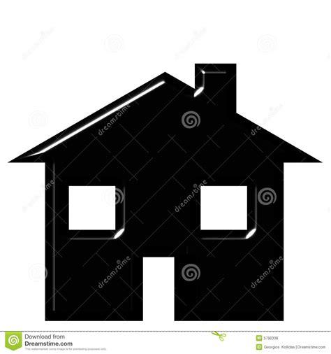 house silhouette stock illustration illustration
