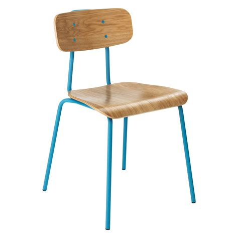 hester blue stackable dining chair buy now at habitat uk