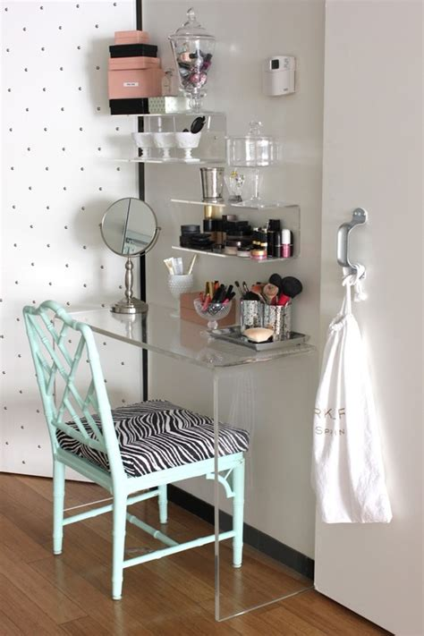 makeup vanity ideas for bedroom chambre le de blondie un beaut 233