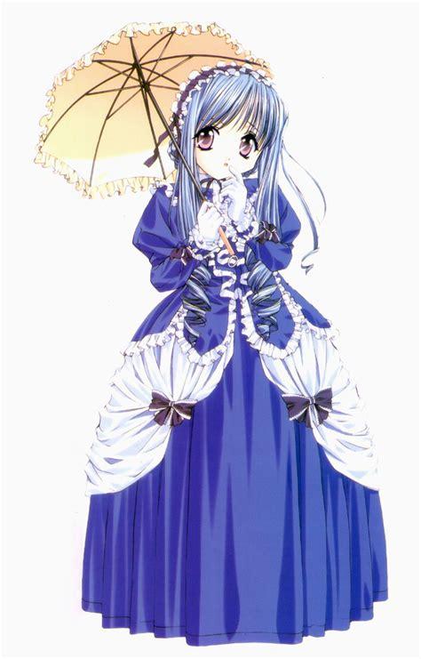 anime princess anime princess blue dress princess anime girl characters