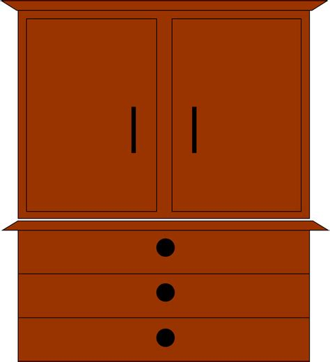 Cabinet Clipart by Dresser Free Images At Clker Vector Clip