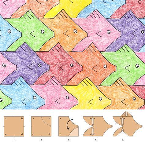 tessellation pattern games tesselations on pinterest mc escher middle school art