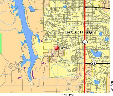 ft co zip code 80526 zip code fort collins colorado profile homes