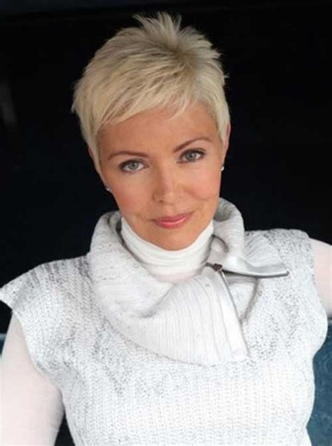 pixie cut hairstyle for age mid30 s quick hairstyles for short hair and older women cool
