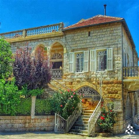 Home Design For Small Homes a beautiful old house in douma by lana aoude lebanon