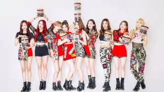 Funky Definition twice k pop girl group members wallpaper 29959