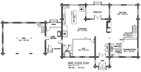 log home floor plan greater than 5000 square sq ft