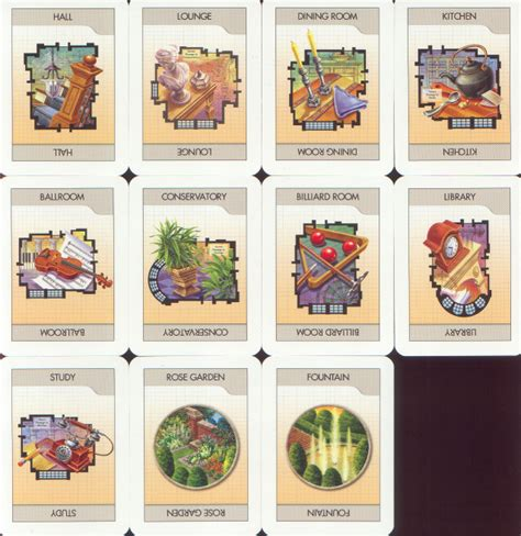 clue cards place template cluedo clue boardgames