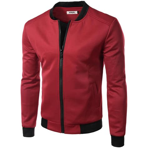 jacket design new new wine red jacket men 2016 autumn fashion design mens