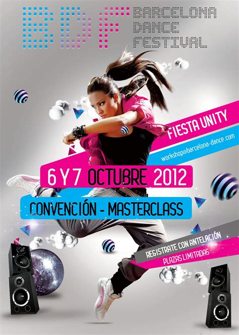 Zumba Master Class Flyer masterclass octubre flyer design creativity bdf