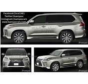 2017 Toyota Land Cruiser And Lexus LX Facelift Leaked In