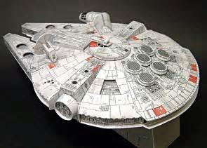 millennium falcon paper model 1000 images about maquette en papier transport on