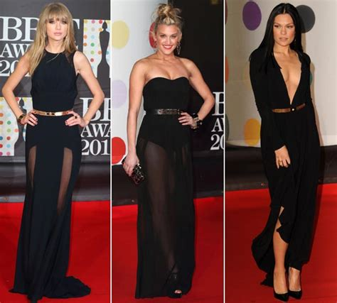 Brit Awards Fashion by All The Fashion From The Brit Awards 2013