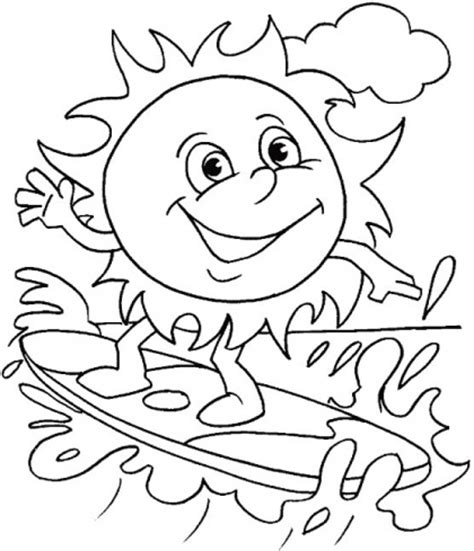 best sheets for summer 10 best summer coloring pages images on pinterest