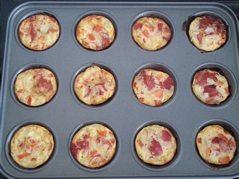 7 Eggy Recipes by Mini Savoury Eggy Cakes Recipe All Recipes Uk