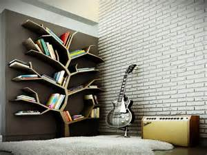 Tree Bookshelves Modern Tree Bookshelf Design For Large Bookshelf In The