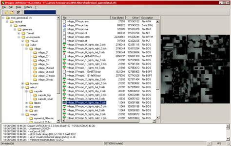 mod game files dragon unpacker download sourceforge net