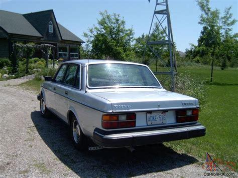 volvo diesel volvo 240 diesel 1984