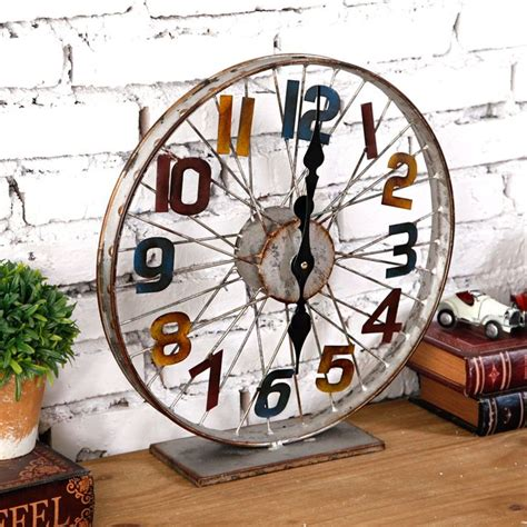 part of an old clock now a piece of art hmm vintage 25 best ideas about bicycle wheel on pinterest bike