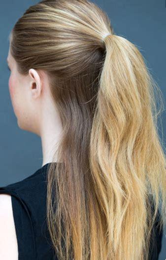tutorial rambut ekor kuda tutorial rambut cantik dan sederhana dalam waktu 10 detik