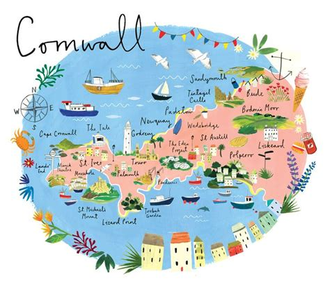 map uk cornwall 25 unique cornwall map ideas on cornwall