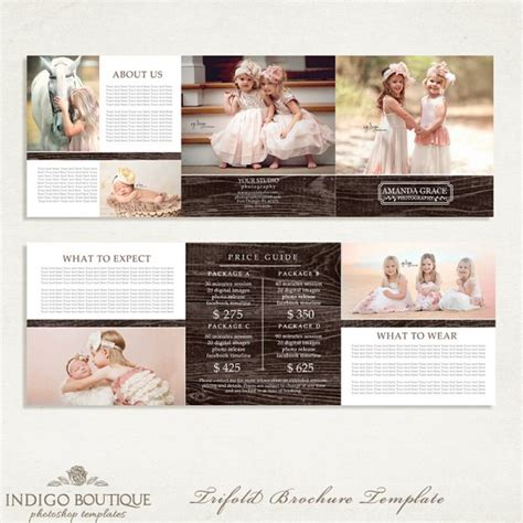 photography marketing templates photography marketing set templates with logo 008