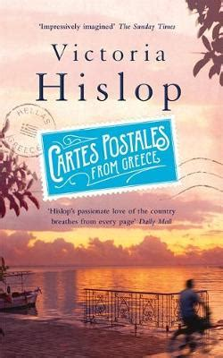 cartes postales from greece cartes postales from greece by victoria hislop buy books at lovereading co uk
