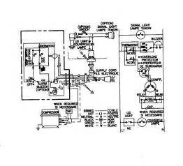 wiring information diagram parts list for model mqc1557bew maytag parts freezer parts