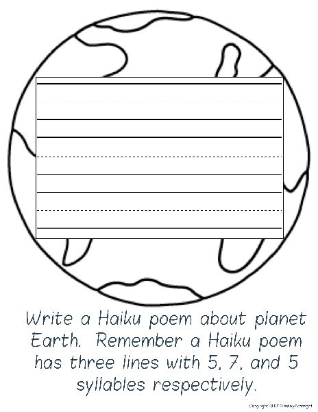 Haiku Pattern Template practice makes has sprung poetry in