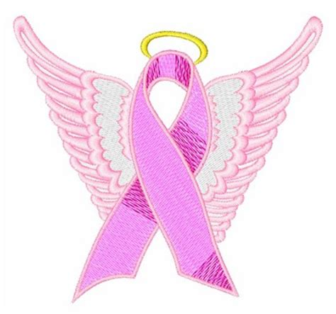 Fantasy Embroidery Design Breast Cancer Ribbon From Bella Cancer Ribbon Designs 2