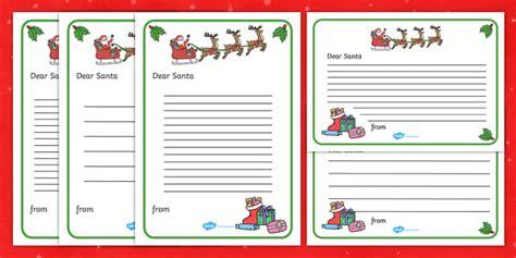 letter santa template ks resource