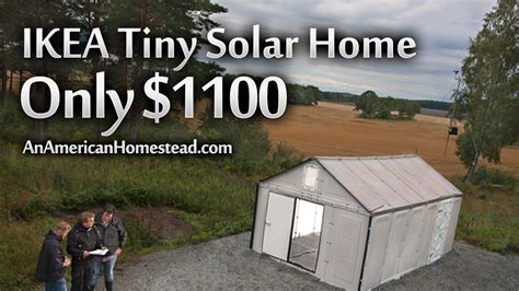 ikea tiny house ikea grid tiny house for 1100 modern homesteading