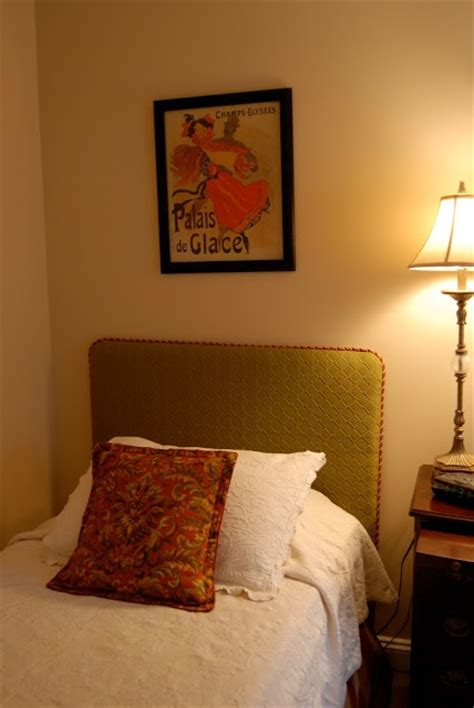 make a padded headboard make your own headboard casual cottage