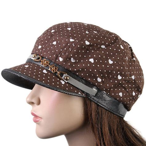 d 233 cor newsboy baker boy apple cap hat brown