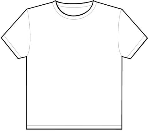 design your own template design your own t shirt template clipart best