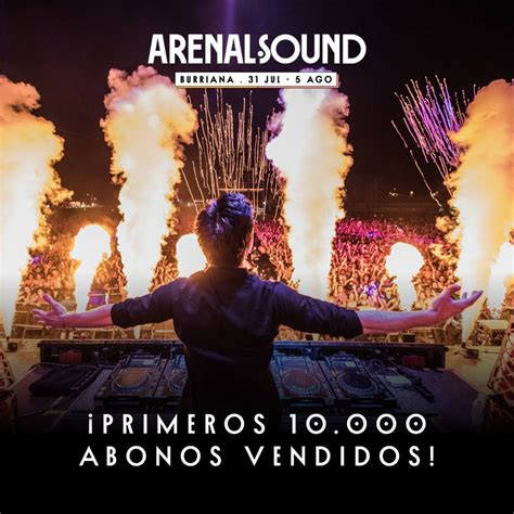 comprar entradas arenal 161 corre a por tus entradas para el arenal sound 2017