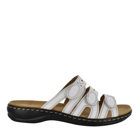 Sandal Convert 3 clarks leisa sandal white sandals sandals summer slip ons womens categories