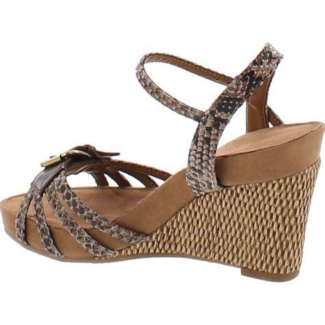 Plush Sandals by Aerosoles S Plush Around Wedge Sandal Ebay