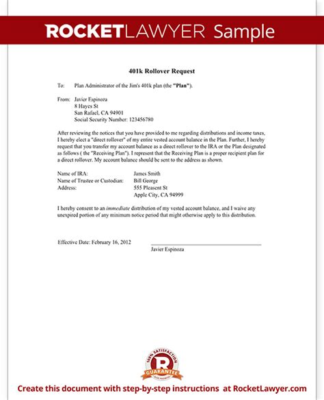 Complaint Withdrawal Letter Format Request 401k Rollover To Roth Ira New Employer Letter