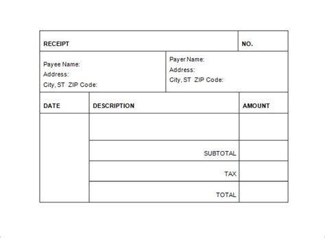billing receipt template invoice receipt template 17 free word excel pdf
