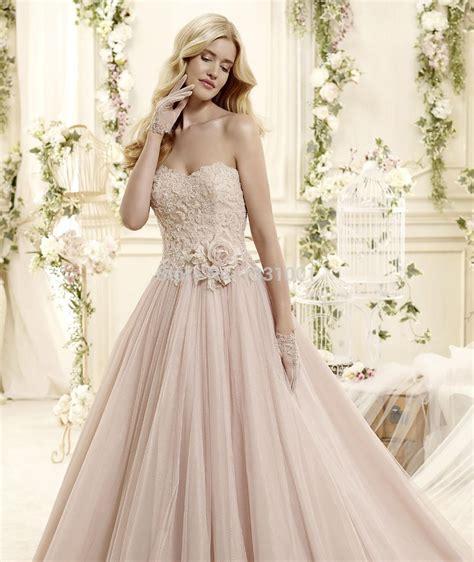 Brautkleider Blush by Aliexpress Buy Vestido Para Casamento 2016 Blush