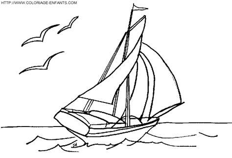 dessin bateau de plaisance coloriage bateau a voile 224 imprimer et 224 colorier