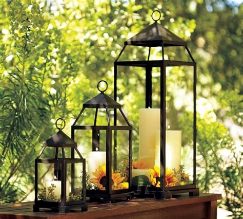 outdoor lanterns decorations lanterns with maritime flair summer decoration ideas for
