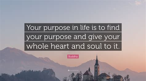 give a heart and soul to your kitchen by adding a butcher buddha quote your purpose in life is to find your