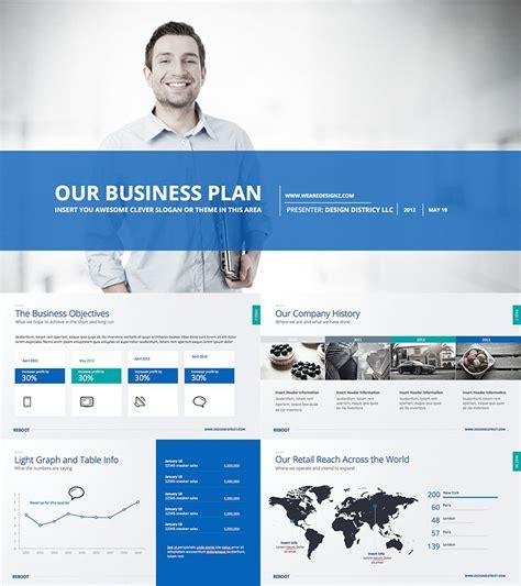 modern business plan format business plan modern powerpoint design deck data