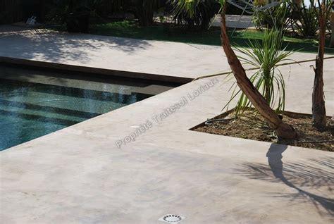 photos de sol beton cir 233 en exterieur