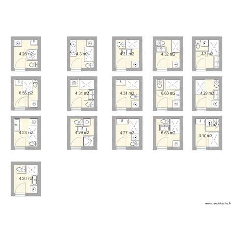 Salle De Bain 3m2 1860 by Plan Salle De Bain 3m2 Salle De Bains